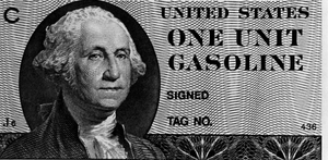 1979 energy crisis - Gas coupon printed but not issued during the 1979 energy crisis