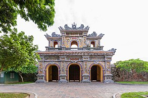 Gate in Imperial City, Huế (II).jpg