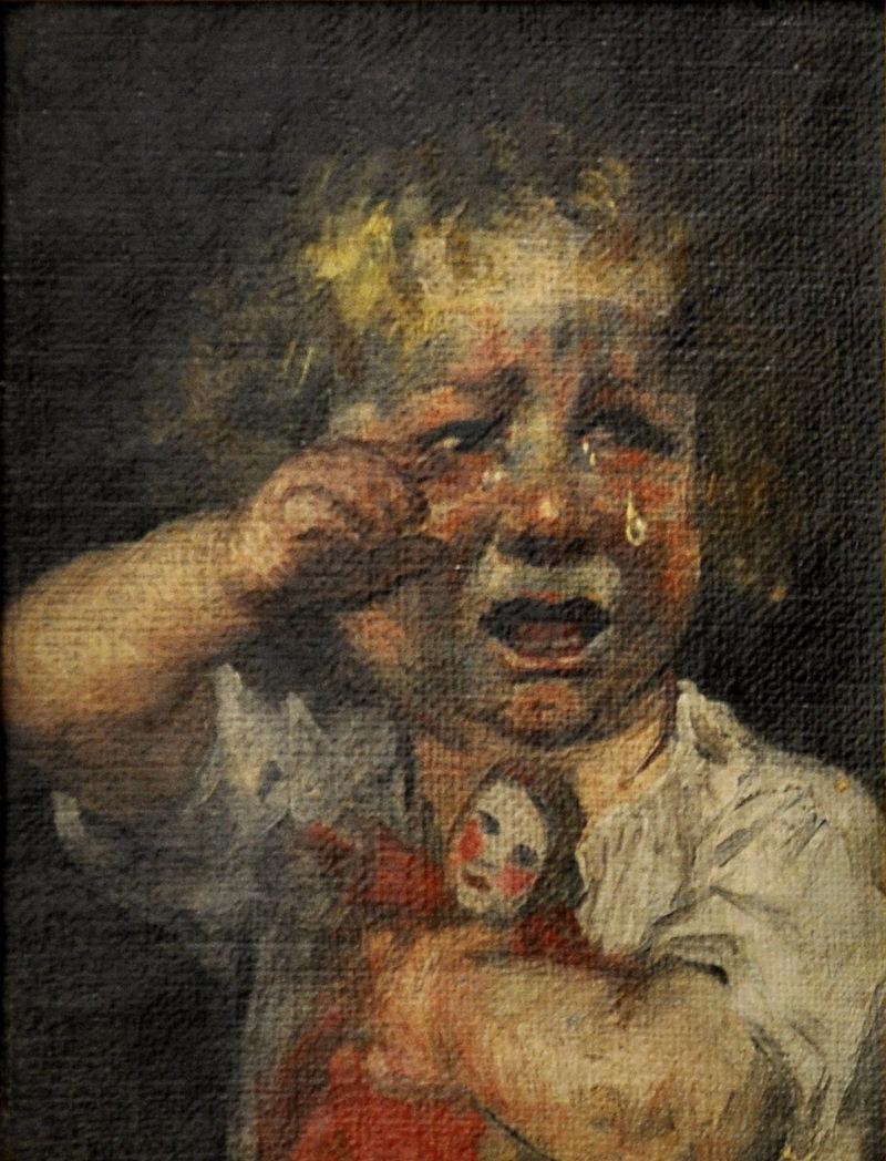 Gebhard Fugel Kleines Mädchen weinend.jpg