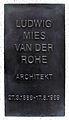 Gedenktafel Kirchstr 13 (Moabi) Ludwig Mies van der Rohe.jpg