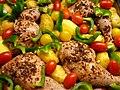 Gemüse mit Hähnchenschlegel - Rohzustand.JPG