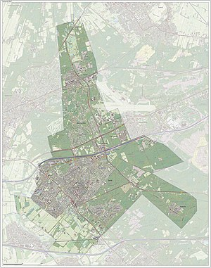 Zeist - Dutch Topographic map of Zeist (municipality), Sept. 2014