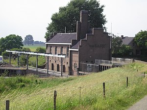 Pumping station - Pumping station Van Sasse in Grave, the Netherlands.
