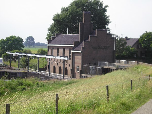 Pumping station Van Sasse in Grave, the Netherlands.