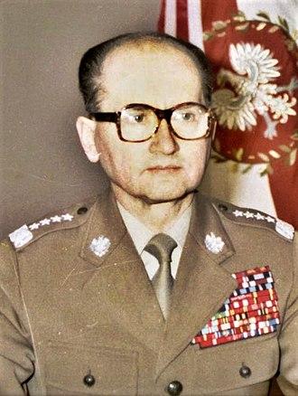 Wojciech Jaruzelski - Image: Gen. Wojciech Jaruzelski 13 grudnia 1981