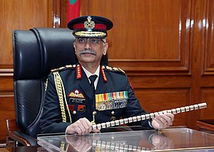 General Manoj Mukund Naravane, PVSM, AVSM, SM, VSM, ADC takes over as the Chief of Army Staff COAS of the Indian Army.jpg