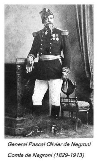 Negroni - Image: General Pascal Olivier Count de Negroni