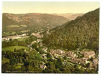 General view, Bettws-y-Coed (i.e. Betws), Wales-LCCN2001703431.jpg