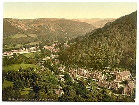 General view, Bettws-y-Coed (i.e. Betws), Wales-LCCN2001703431.jpg
