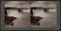General view of the Falls from New Steel Bridge. 'Maid of the Mist' at landing, Niagara, U.S.A, by Underwood & Underwood.png