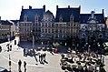Gent Sint Veerleplein viewed from Burg Gravensteen 5.jpg