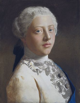 George III of the United Kingdom - Pastel portrait of George as Prince of Wales by Jean-Étienne Liotard, 1754