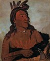 George Catlin - Mah-tó-che-ga, Little Bear, a Hunkpapa Brave - 1985.66.84 - Smithsonian American Art Museum.jpg