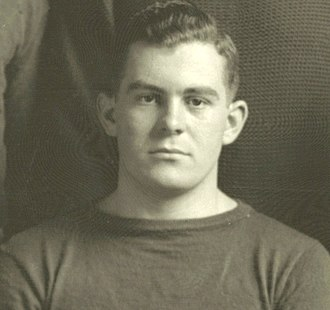 "1913 Michigan Wolverines football team - Team captain George ""Bubbles"" Paterson"