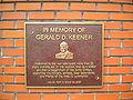 Gerald K. Keener plaque 01.jpg
