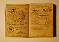 German ID card Personalausweis 1969 - 1979 (3) Katharina Lindlar Jobst.jpg
