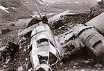 German bombers (Heinkel He 111) destroyed after the fighting in Narvik.jpg