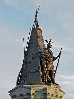 Tamanend - 42nd New York Infantry Monument, Gettysburg Battlefield.