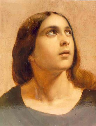 New Testament people named Mary - Magdalena by Gheorghe Tattarescu