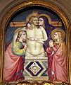 Gherardo starnina o niccolò gerini, pietà, 1405-10 ca..JPG