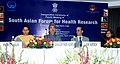 Ghulam Nabi Azad at the inauguration of the 4th Regional Meeting of South Asian Forum of Health Research, organised by the Indian Council of Medical Research, in New Delhi. The Minister of State for External Affairs.jpg