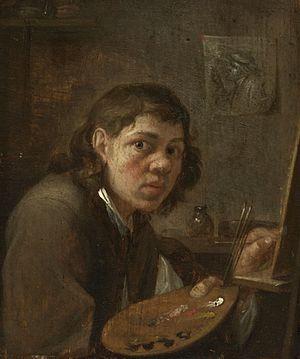Gillis van Tilborgh - Self-portrait