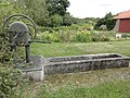 Gimécourt (Meuse) fontaine, pompe noël.jpg