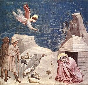 Joachim's dream (Giotto di Bondone)