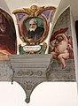 Giovanni da san giovanni, san pietro igneo, tra putti con emblemi vallombrosani di nicodemo ferrucci, 1634 circa, 04.jpg
