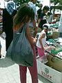 Girl market Suto Orizari Skopje Macedonia.jpg
