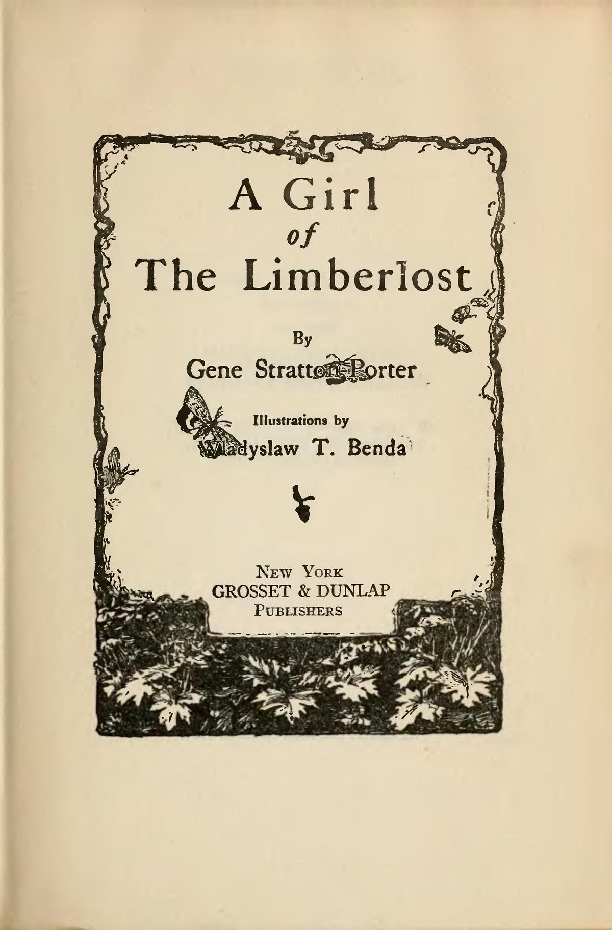 A Girl of the Limberlost (novel) - Wikipedia