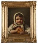 Girl with an Orange (Amalia Lindegren) - Nationalmuseum - 17994.tif