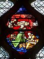 Gisors (27), collégiale St-Gervais-et-St-Protais, collatéral sud, verrière n° 26 - vie de saint Claude 2.jpg