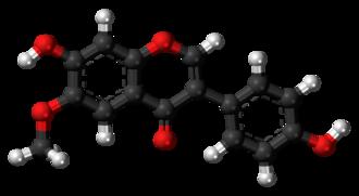 Glycitein - Image: Glycitein 3D balls