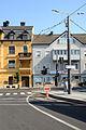 Gmunden Klosterplatz Gleisende.JPG