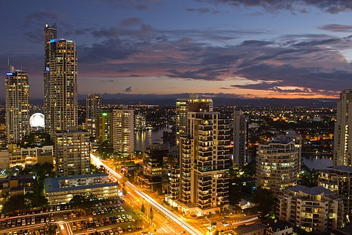 Gold-Coast-Skyline-at-Night