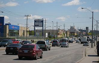 Golden Mile, Toronto - The Golden Mile along Eglinton
