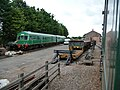 Goods shed and yard, Dunster - geograph.org.uk - 1714874.jpg