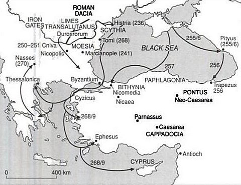 Gothic raids in the 3rd century