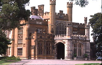 Edward Blore - Government House, Sydney, Australia.