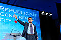 Governor of Louisiana Bobby Jindal at Southern Republican Leadership Conference, Oklahoma City, OK May 2015 by Michael Vadon 05.jpg