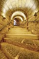 Gozo Citadel Secondary stairwell to restored ditch.jpg