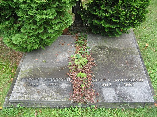 Grób Alfreda Andersch