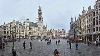 Main square of Brussels, Belgium