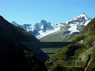 Grande Dixence Dam - Image: Grande Dixence