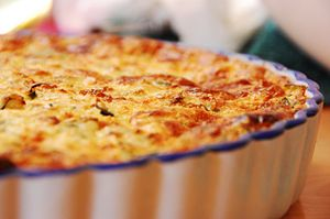 Quick easy to-die-for quiche
