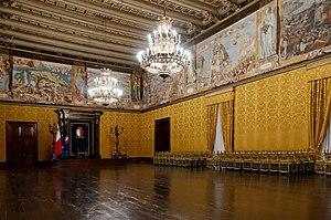 Grandmaster's Palace (Valletta) - The Throne Room