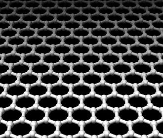 Hexagonal tiling - Image: Graphene xyz