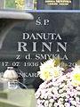Grave of Danuta Rinn at Powązki Cemetery - 01.jpg