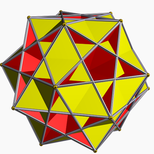 Crossed pentagonal cuploid - Image: Great ditrigonal icosidodecahedron